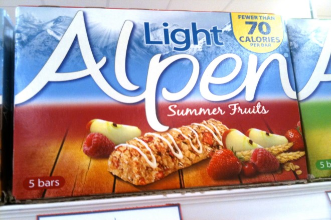 Alpen Light Summer Fruits Kaç Kalori